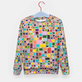 Thumbnail image of Mosaic Kid's sweater, Live Heroes