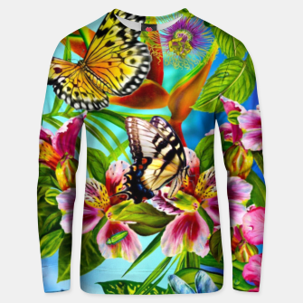 Thumbnail image of Fantasy Butterfly Unisex sweater, Live Heroes