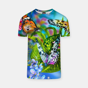 Thumbnail image of Fantasy Butterfly T-shirt, Live Heroes