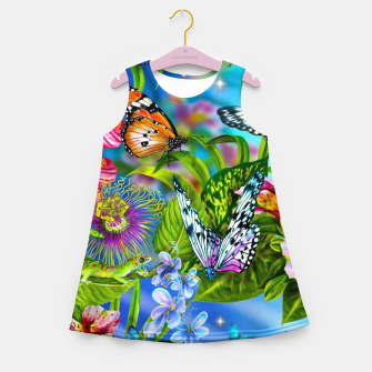 Thumbnail image of Fantasy Butterfly Girl's summer dress, Live Heroes