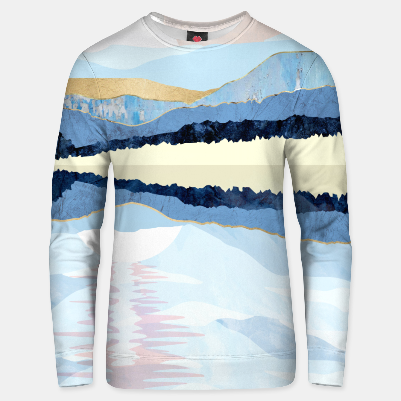 Image of Winter Reflection Unisex sweater - Live Heroes