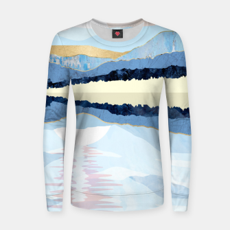Miniatur Winter Reflection Women sweater, Live Heroes