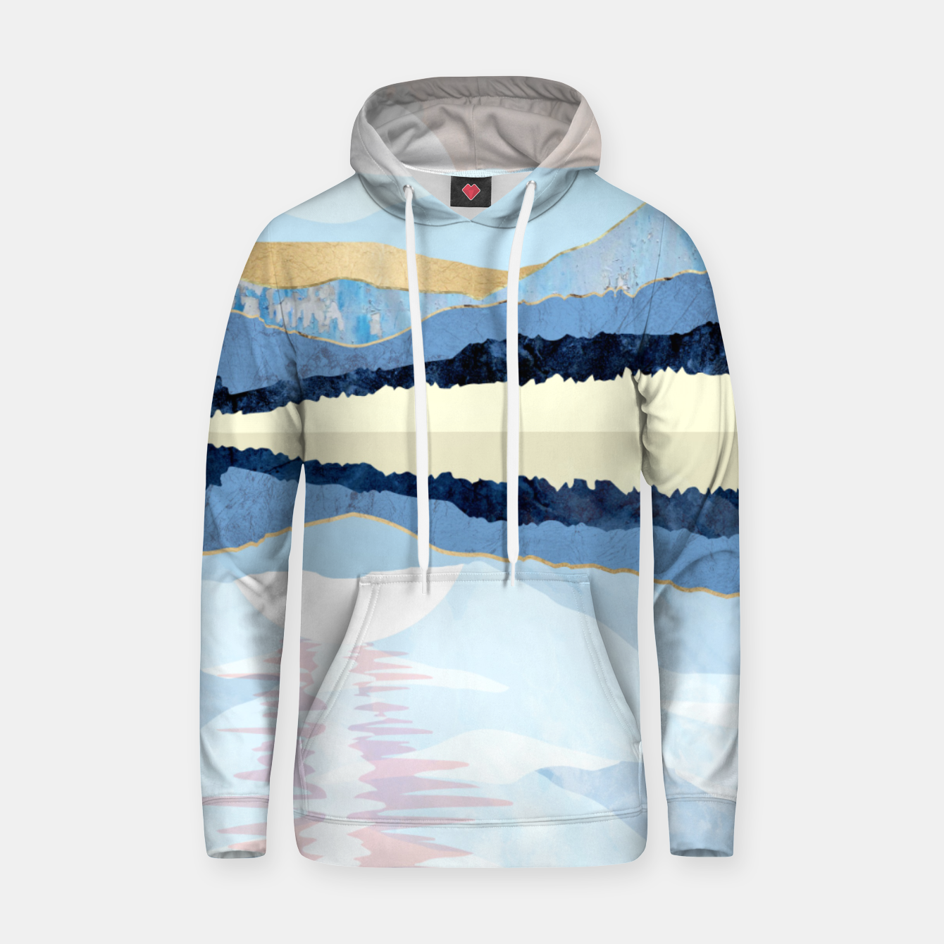 Image of Winter Reflection Hoodie - Live Heroes