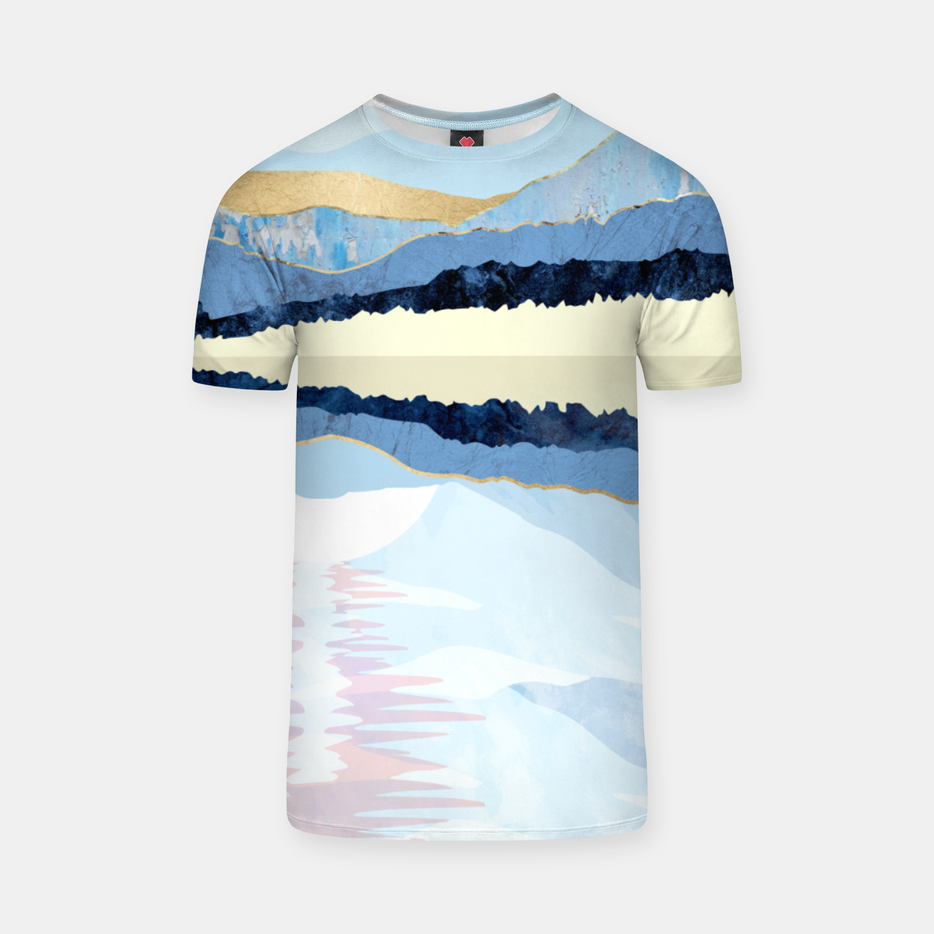 Image of Winter Reflection T-shirt - Live Heroes