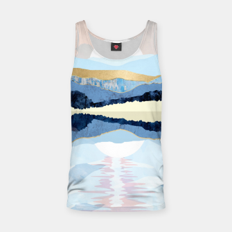 Miniatur Winter Reflection Tank Top, Live Heroes