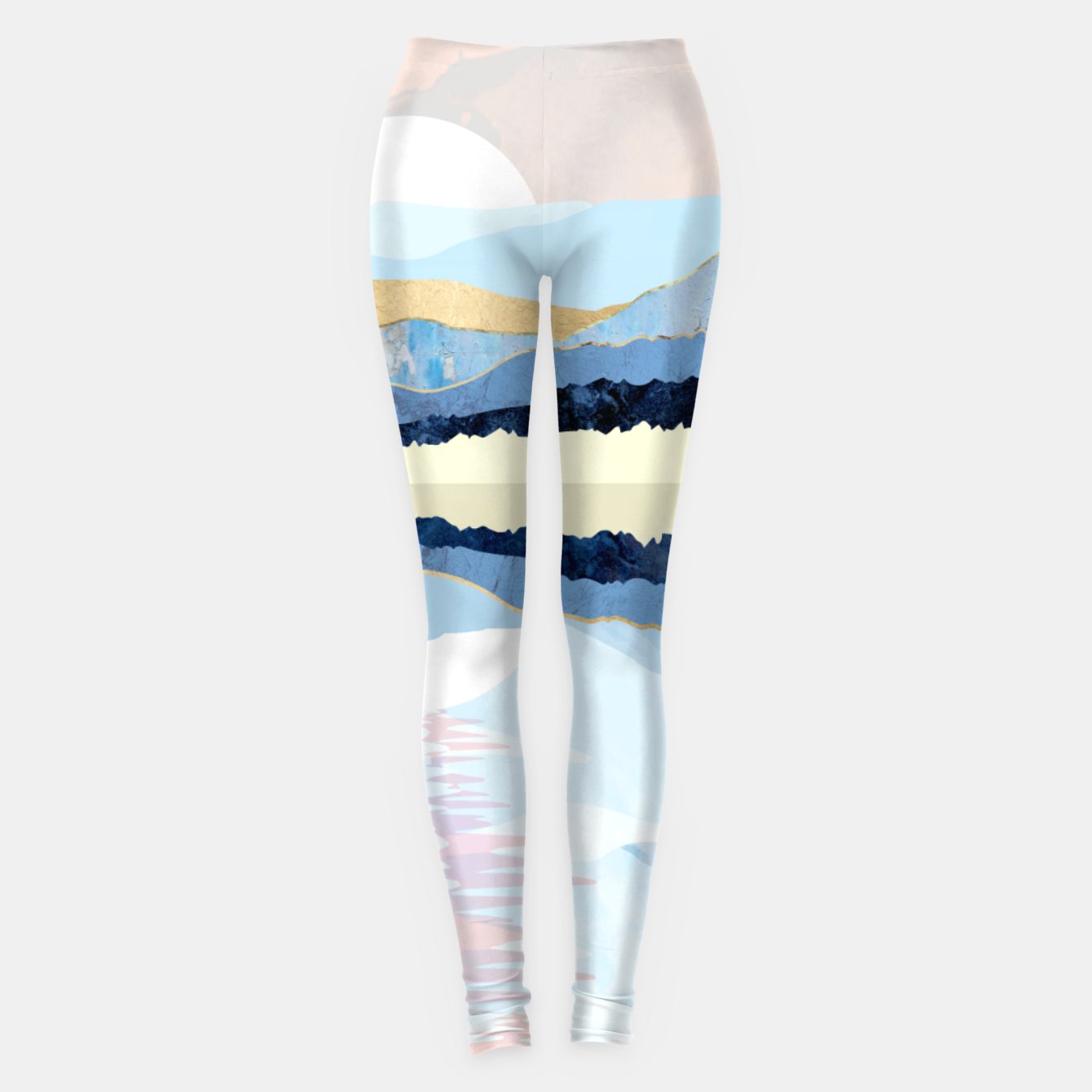 Image of Winter Reflection Leggings - Live Heroes