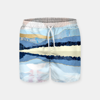 Miniatur Winter Reflection Swim Shorts, Live Heroes