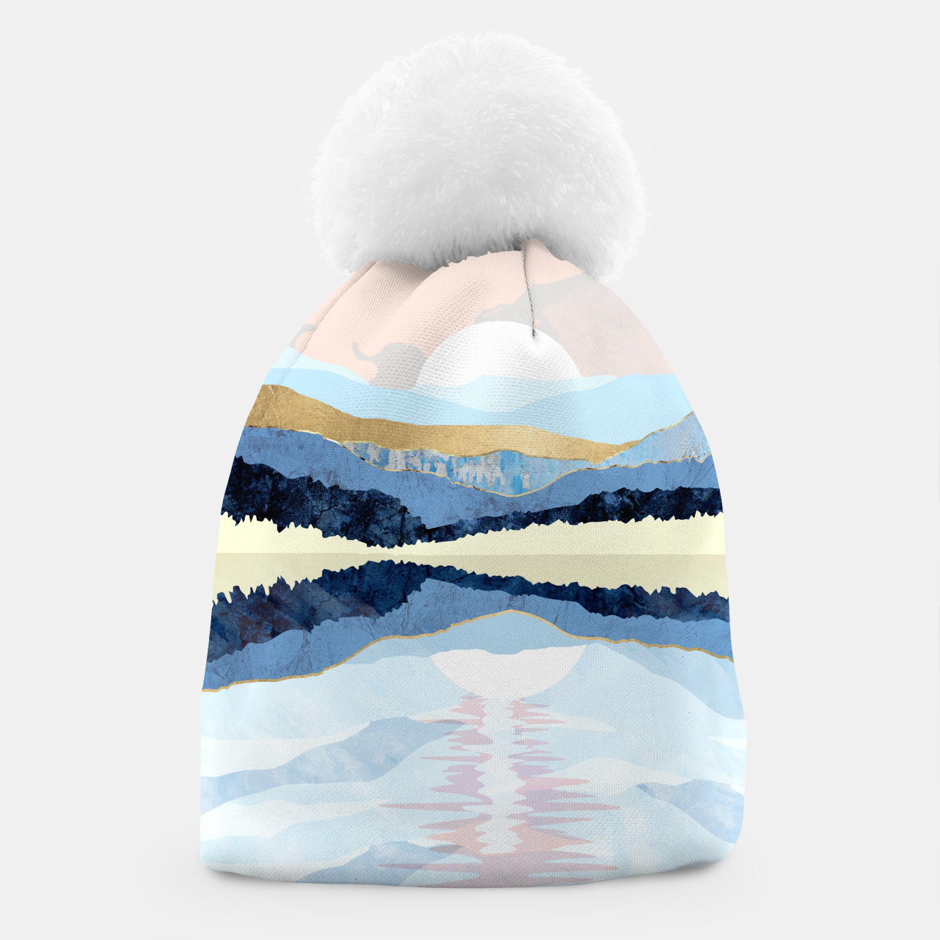 Image of Winter Reflection Beanie - Live Heroes