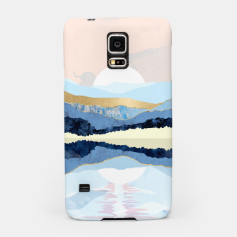 Miniatur Winter Reflection Samsung Case, Live Heroes