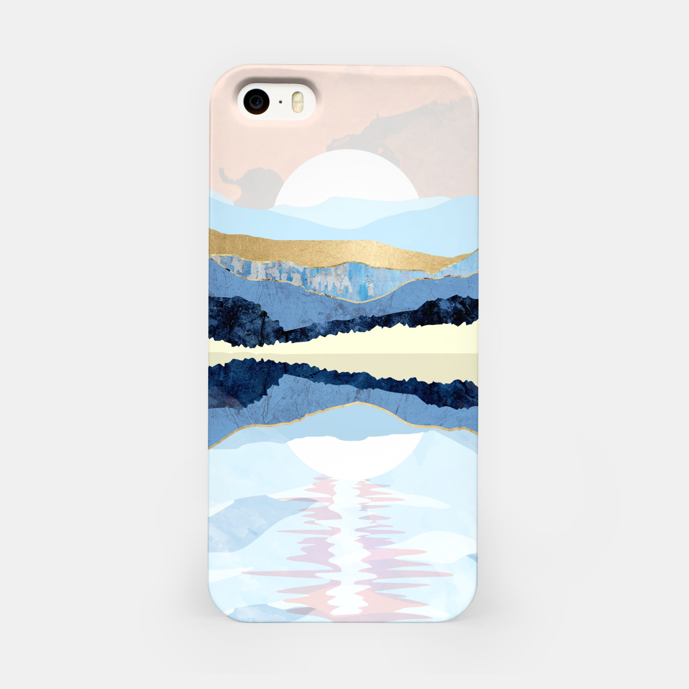 Image of Winter Reflection iPhone Case - Live Heroes