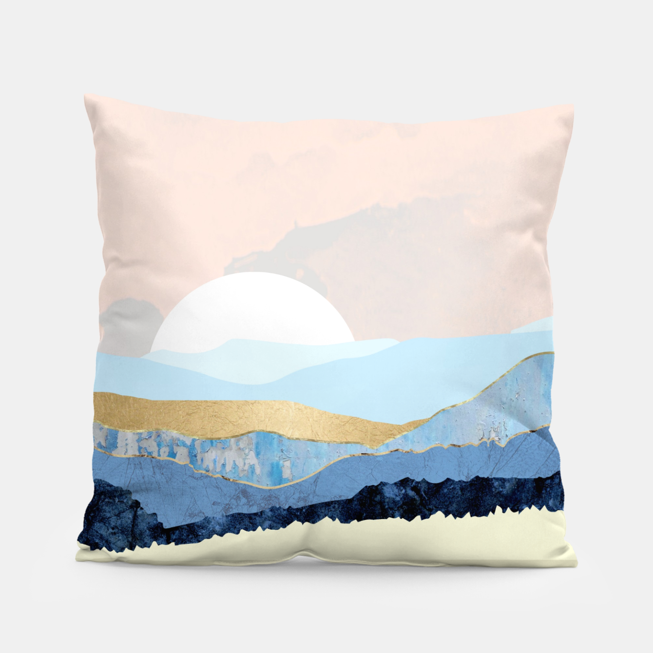 Image of Winter Reflection Pillow - Live Heroes