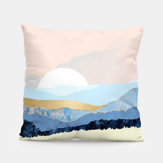 Thumbnail image of Winter Reflection Pillow, Live Heroes