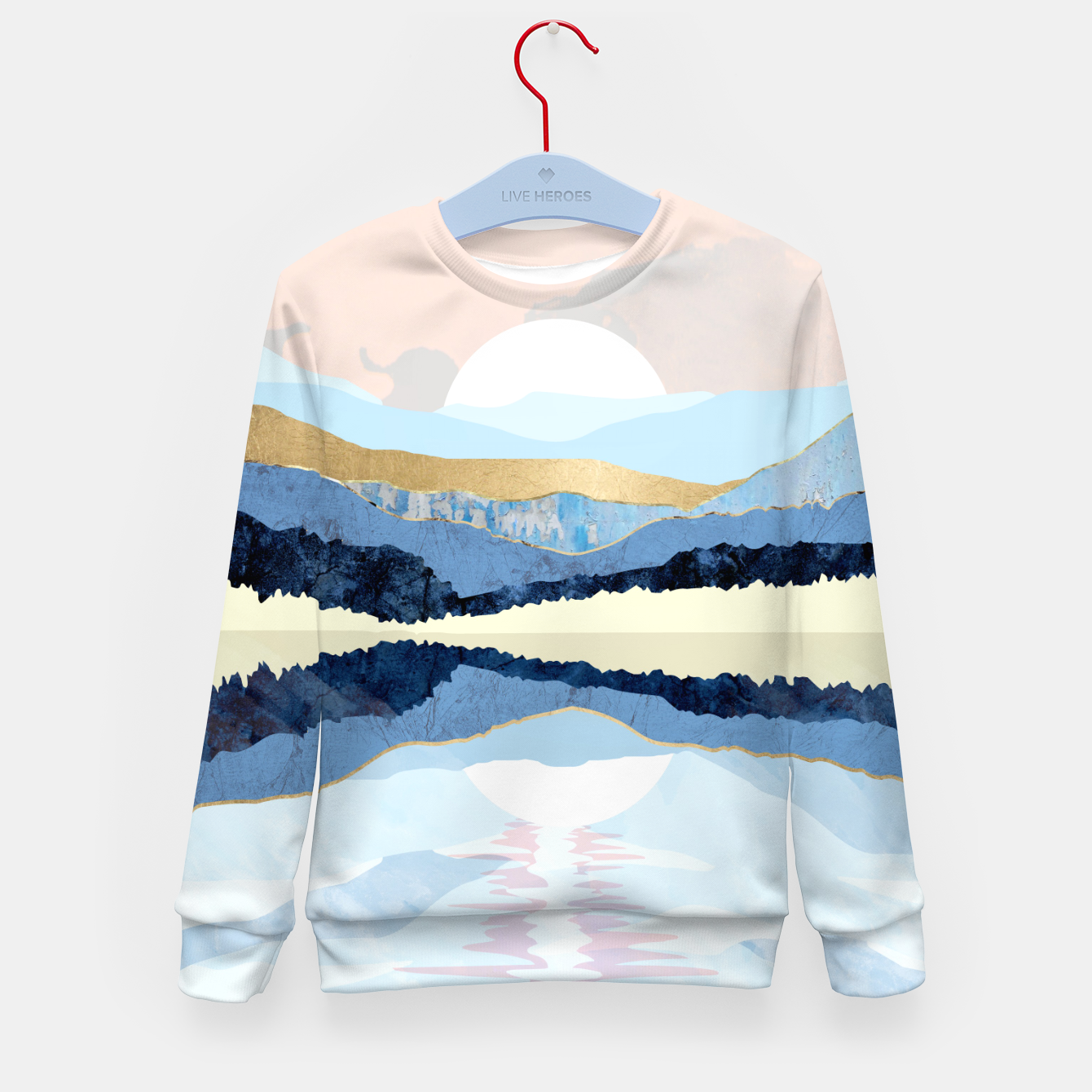 Image of Winter Reflection Kid's sweater - Live Heroes