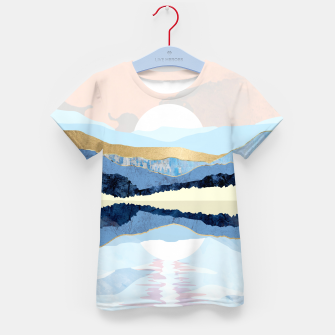 Thumbnail image of Winter Reflection Kid's t-shirt, Live Heroes