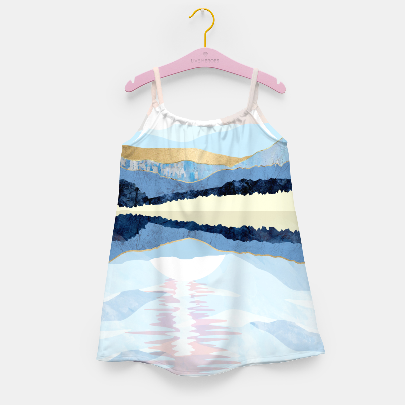 Image of Winter Reflection Girl's dress - Live Heroes
