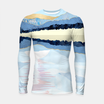 Miniatur Winter Reflection Longsleeve rashguard , Live Heroes