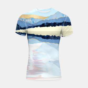 Miniatur Winter Reflection Shortsleeve rashguard, Live Heroes