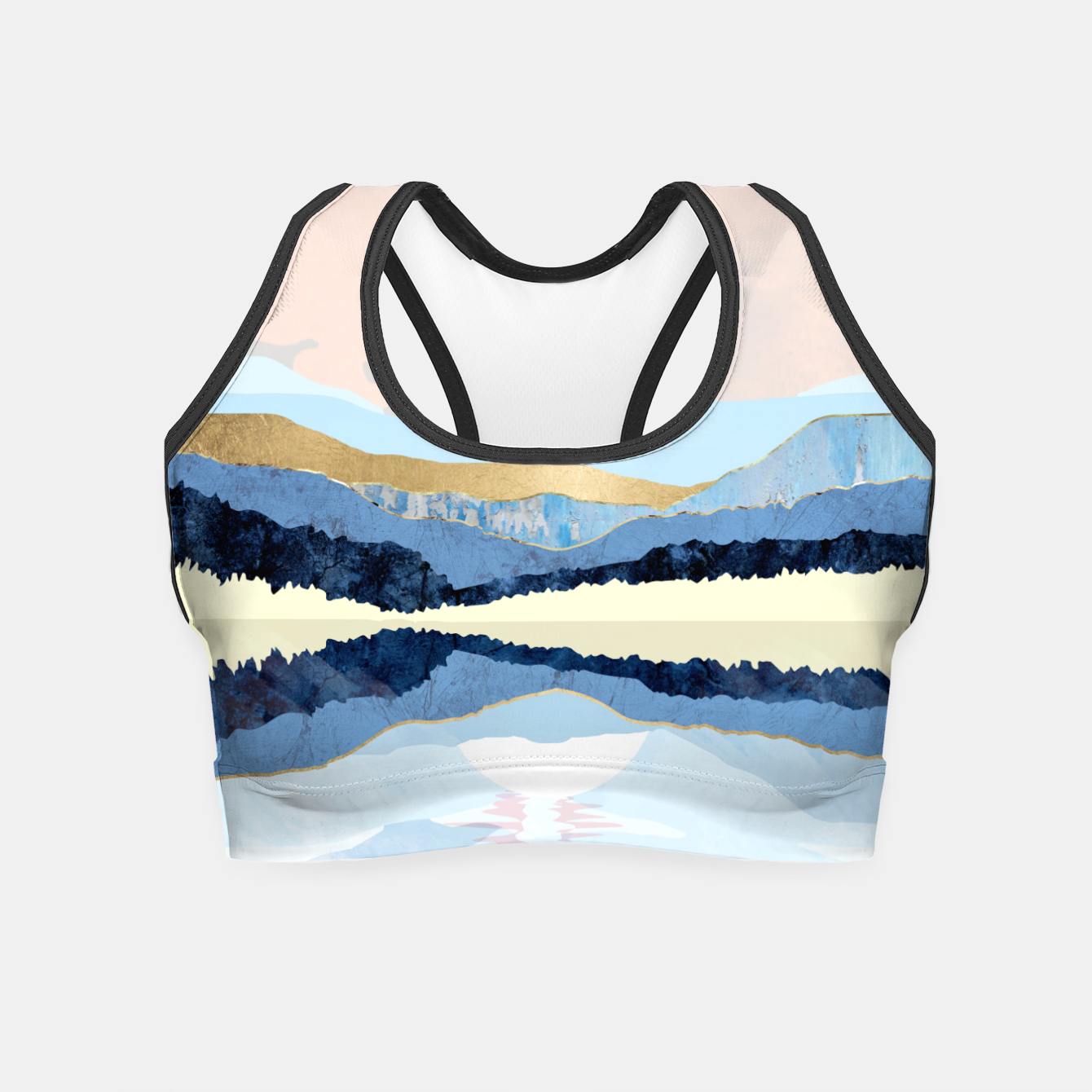 Image of Winter Reflection Crop Top - Live Heroes