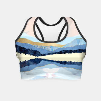 Miniatur Winter Reflection Crop Top, Live Heroes