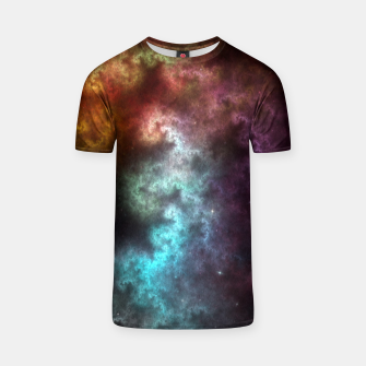 Thumbnail image of Squiggley Nebula Star Dust Cloud CRQENH T-shirt, Live Heroes