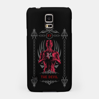 Thumbnail image of The Devil XV Tarot Card Samsung Case, Live Heroes