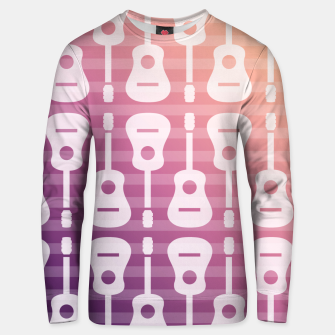 Thumbnail image of Rockstar musical festival poster Unisex sweater, Live Heroes