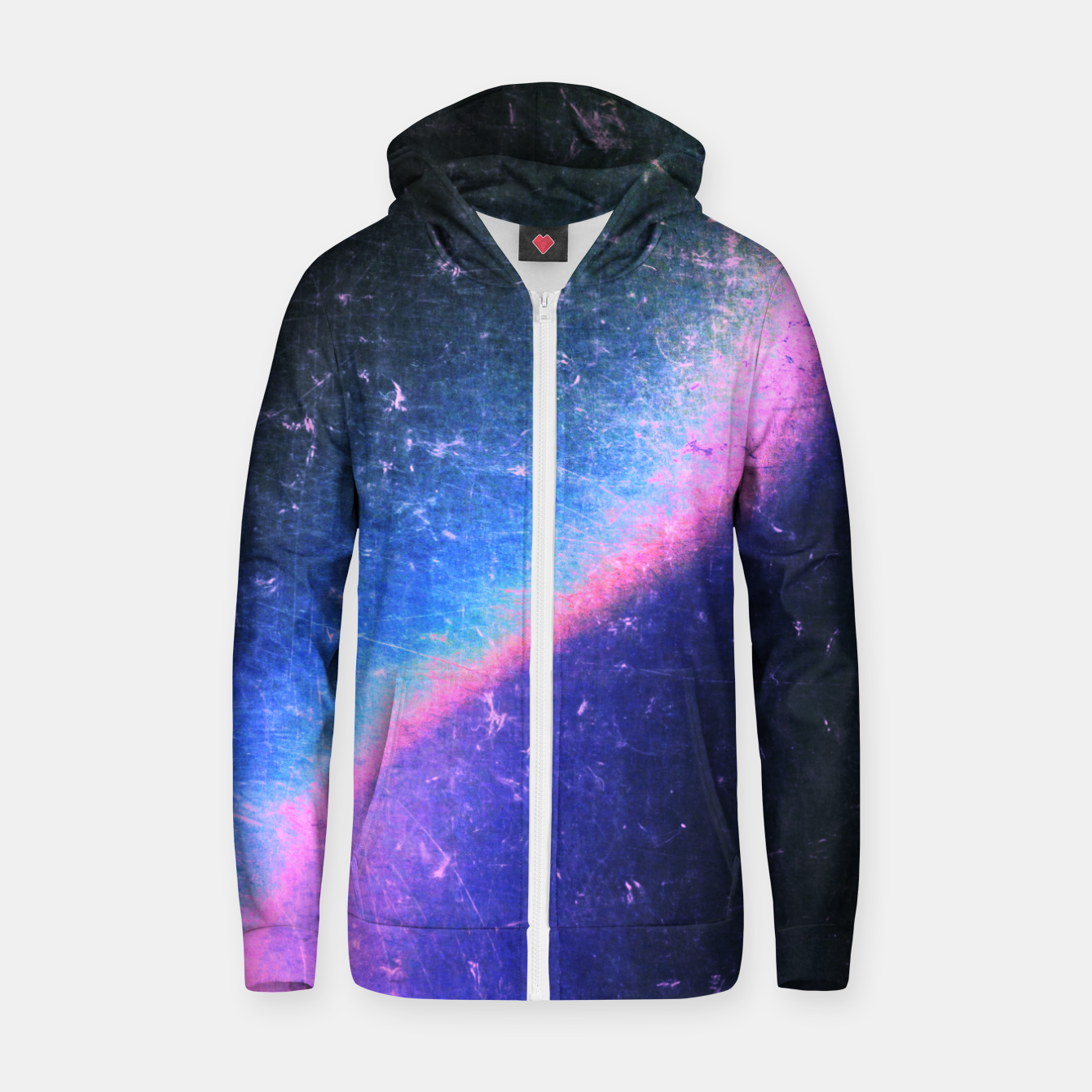 Image of Electric Attraction Zip up hoodie - Live Heroes