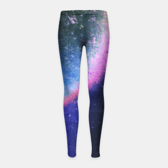 Thumbnail image of Electric Attraction Girl's leggings, Live Heroes