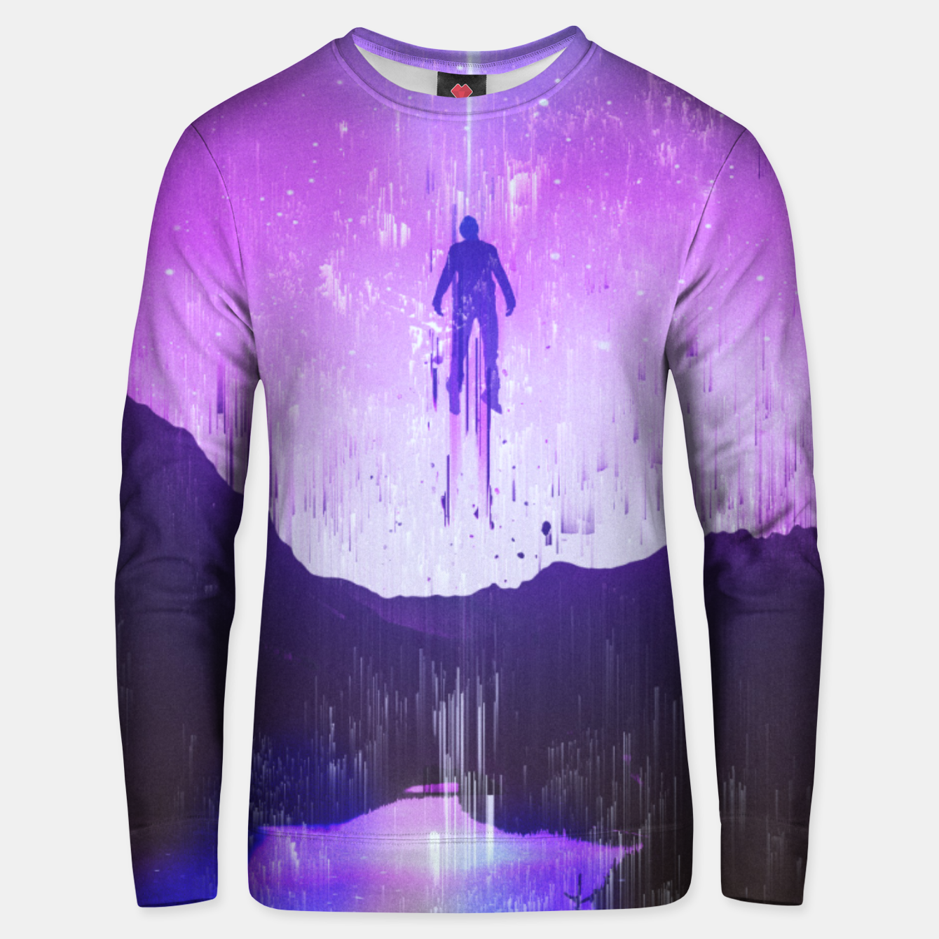 Image of Purple Dream Unisex sweater - Live Heroes