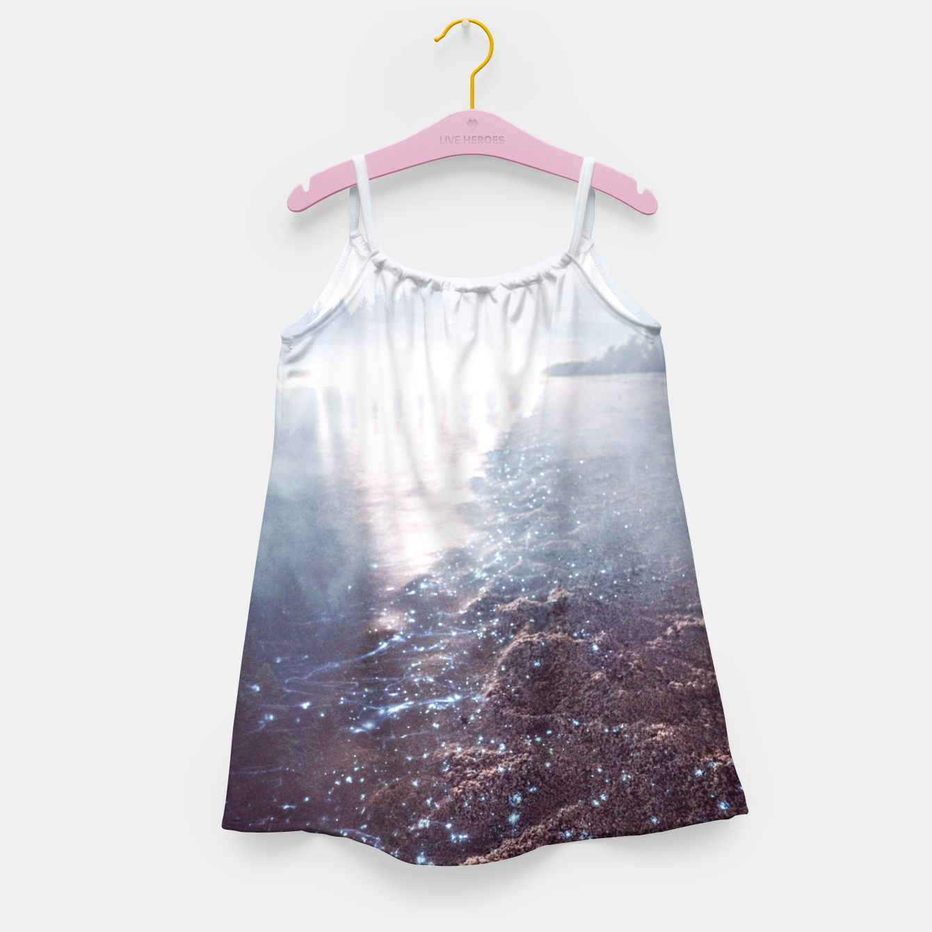 Image of Wild at Heart Girl's dress - Live Heroes