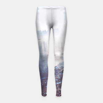 Thumbnail image of Wild at Heart Girl's leggings, Live Heroes