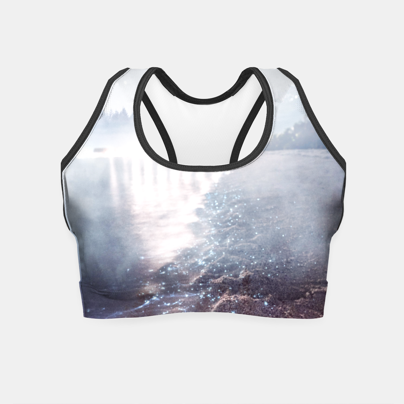 Image of Wild at Heart Crop Top - Live Heroes