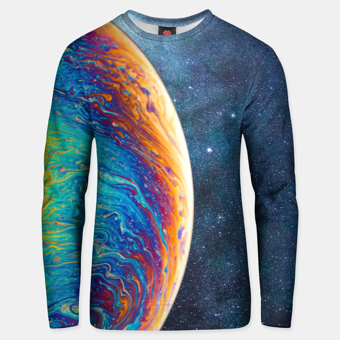 Image of Out In Space Unisex sweater - Live Heroes