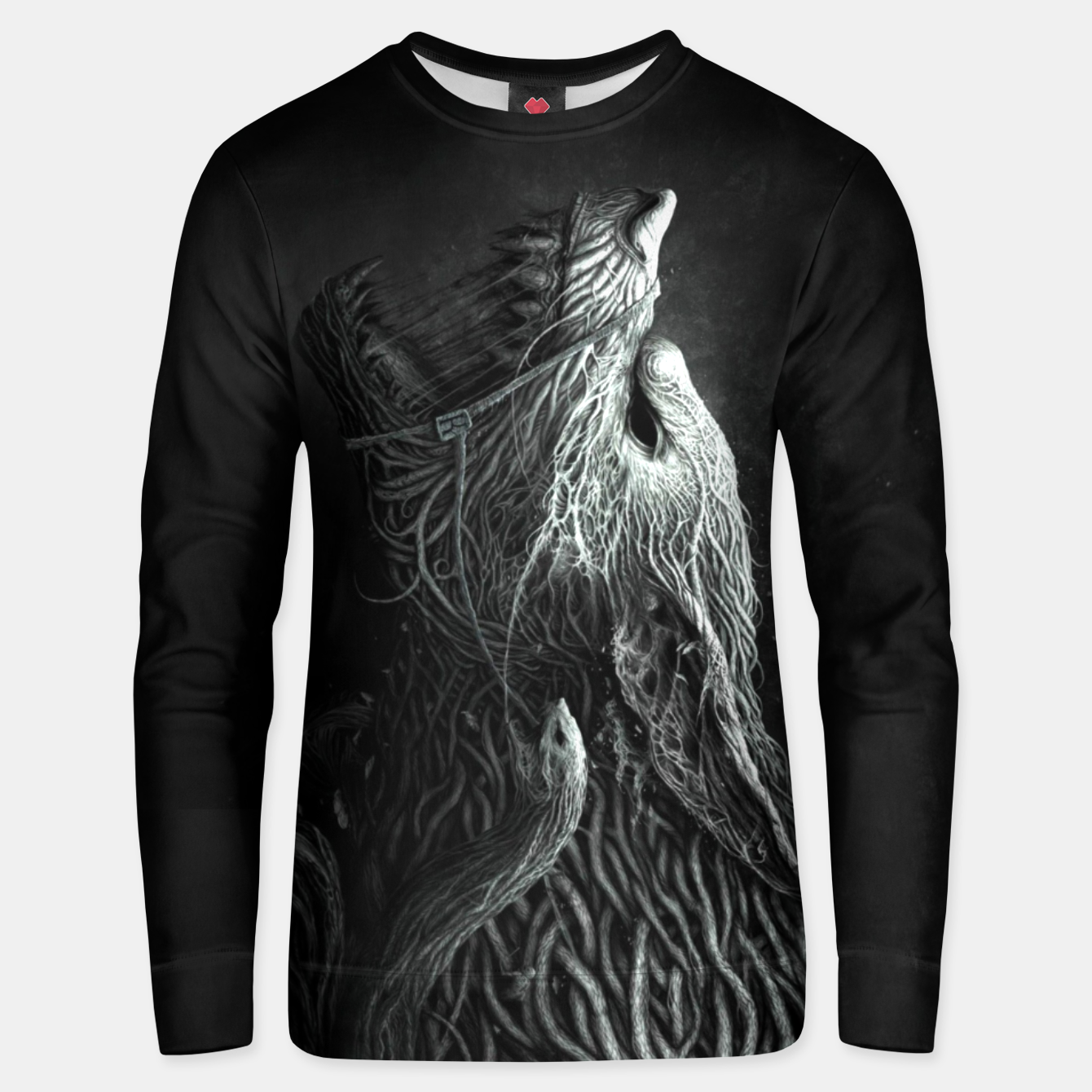 Image of Infested Wolf Unisex sweater - Live Heroes