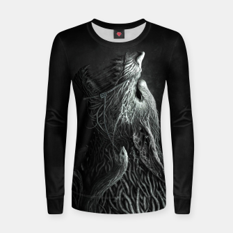 Thumbnail image of Infested Wolf Women sweater, Live Heroes