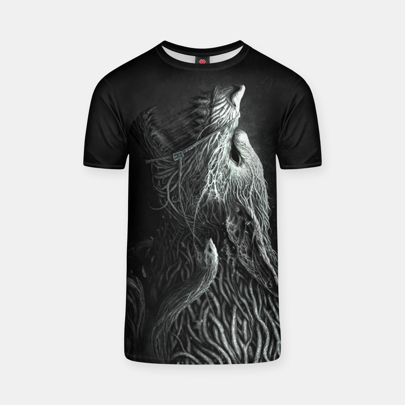 Image of Infested Wolf T-shirt - Live Heroes