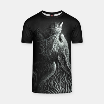 Thumbnail image of Infested Wolf T-shirt, Live Heroes