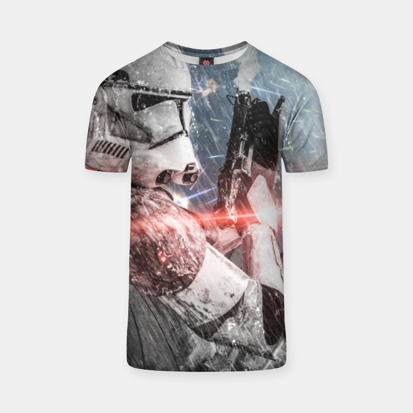 Image of Clone Wars T-shirt - Live Heroes