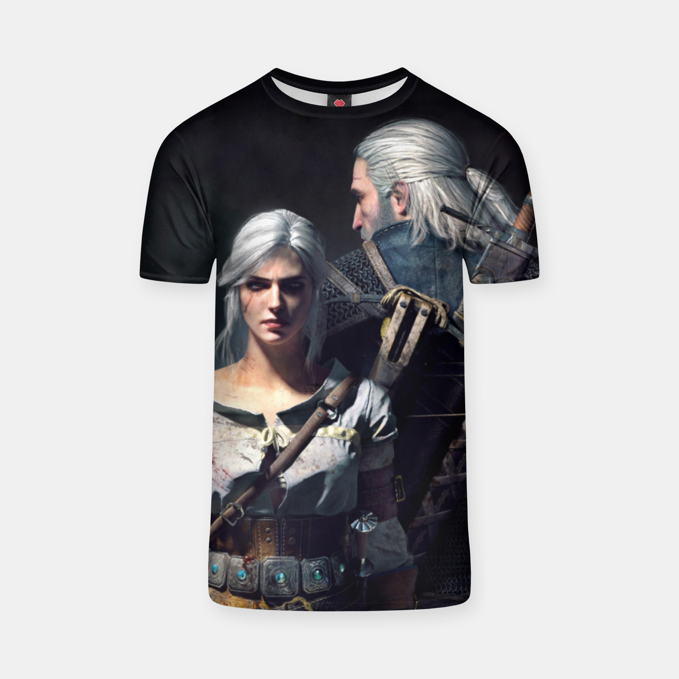 Image of Grey Wolf T-shirt - Live Heroes