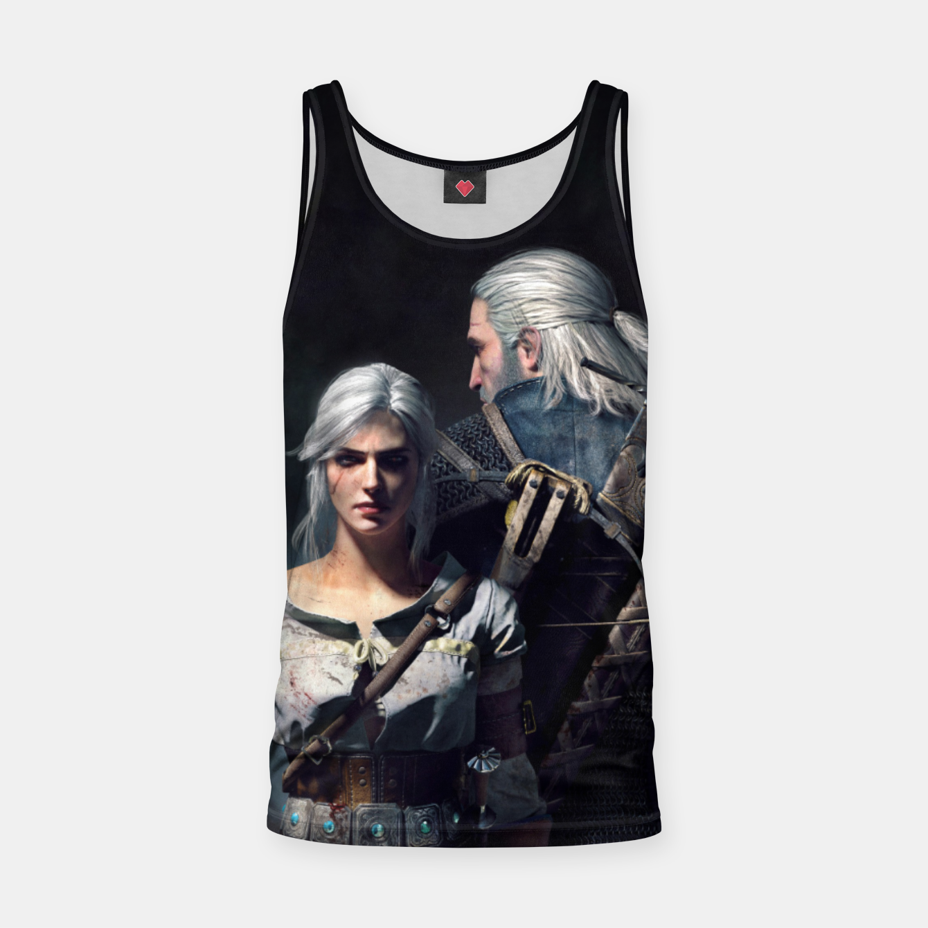 Image of Grey Wolf Tank Top - Live Heroes