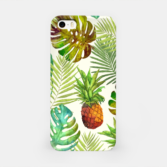 Thumbnail image of Pineapple and Monstera iPhone Case, Live Heroes