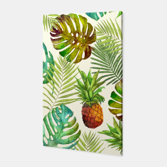 Thumbnail image of Pineapple and Monstera Canvas, Live Heroes