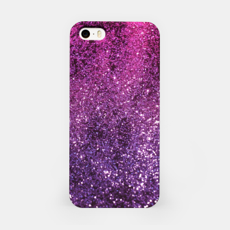 Thumbnail image of Purple Pink Ombre Lady Glitter #1 #shiny #decor #art iPhone-Hülle, Live Heroes