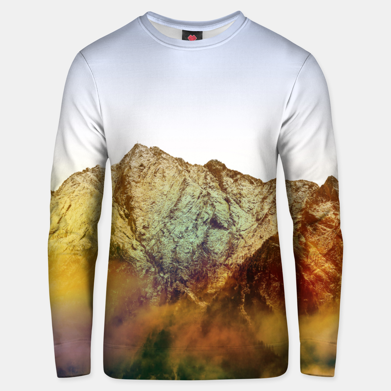 Image of Golden Mountain Unisex sweater - Live Heroes