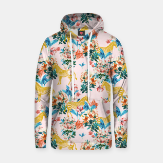 Thumbnail image of Floral and Zebras Hoodie, Live Heroes