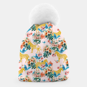 Floral and Zebras Beanie thumbnail image