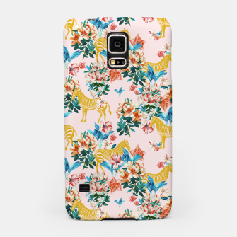 Floral and Zebras Samsung Case thumbnail image