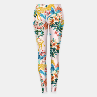 Floral and Zebras Leggings thumbnail image