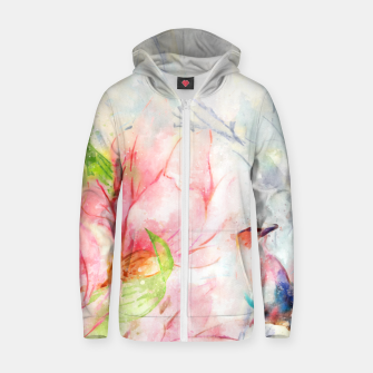 Thumbnail image of Birds in Love Zip up hoodie, Live Heroes
