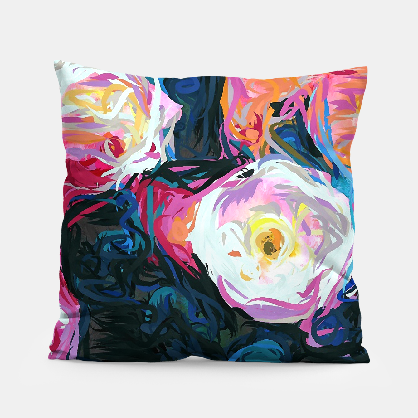 Image of Flowerella Pillow - Live Heroes